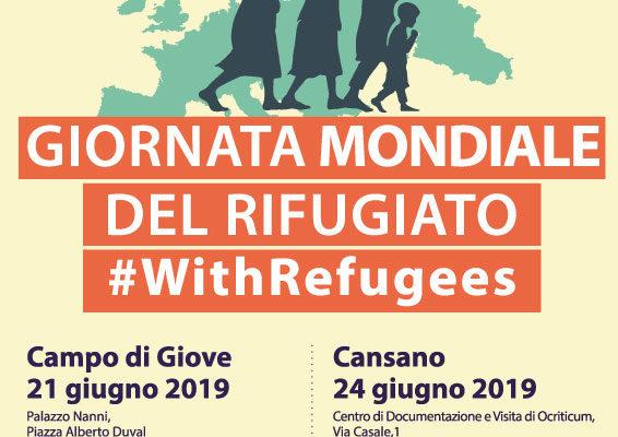 Giornata Mondiale del Rifugiato #WithRefugees 2019