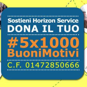 5×1000 Buoni Motivi per sostenere la Horizon Service